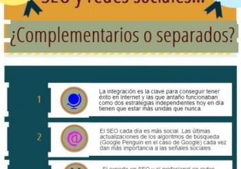Seo y redes sociales. Complementarios o separados