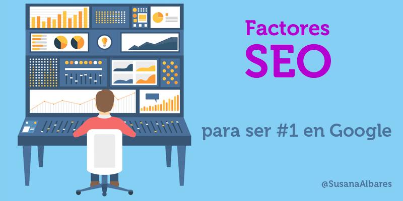 Como posicionarse en Google : 60 factores SEO