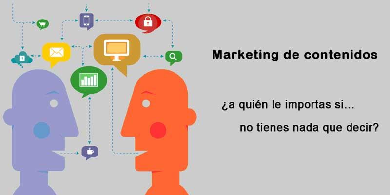Marketing de contenidos : ¿tienes algo que decir?