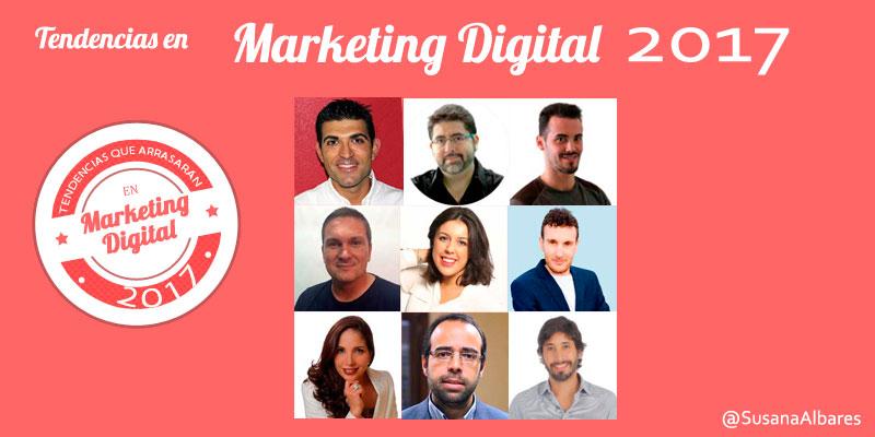 Tendencias en Marketing Digital para 2017